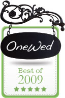 OneWed Best of 2009 Award Winner